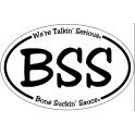 BSS Oval Sticker