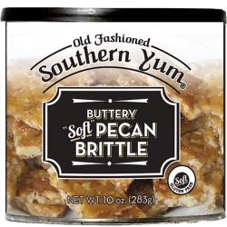 Southern Yum Pecan Brittle, 10 oz.
