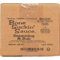 Bone Suckin'® Seasoning & Rub, 5.8 oz., 12 Pack