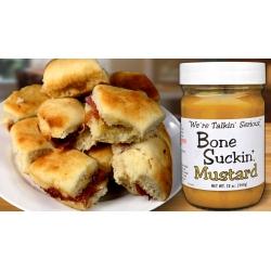 Bone Suckin'® Sauce, Mustard, 12 oz., 12 Pack