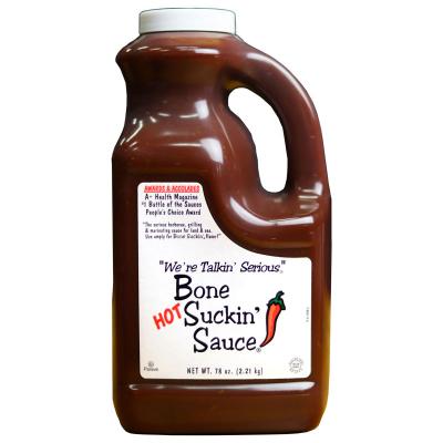 Bone Suckin'® Sauce, Hot, 78 oz.