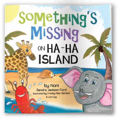 Something's Missing on Ha Ha Island Book