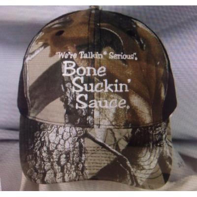 Bone Suckin' Sauce Camo Mesh Cap