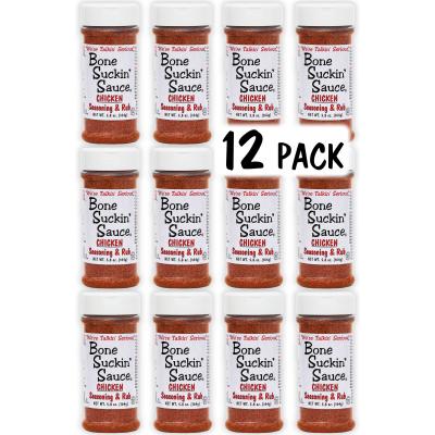 Bone Suckin'® Seasoning & Rub, Chicken, 5.8 oz., 12 Pack