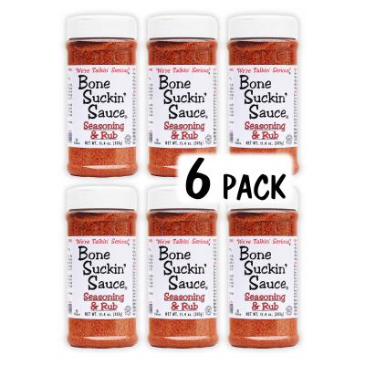 Bone Suckin'® Seasoning & Rub, 11.4 oz., 12 Pack