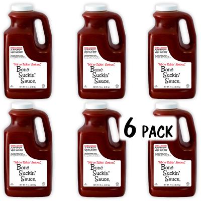 Bone Suckin'® Sauce, 78 oz., 6 Pack