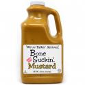 Bone Suckin' ® Sweet Spicy Mustard, 150 oz., Front