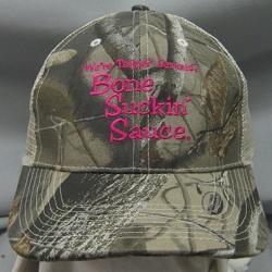 Bone Suckin'® Sauce Camo Mesh Cap