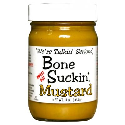 Bone Suckin'® Sauce, Sweet Hot Mustard, 4 oz.