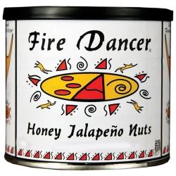 Fire Dancer® Honey Roasted Jalapeño Nuts, 9 oz. Tin