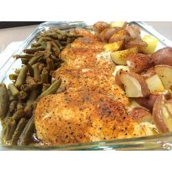 Bone Suckin' Vegetable Seasoning - Potatoes, Greenbeans & Chicken